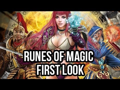 Runes of Magic (Free MMORPG): Watcha Playin'? Gameplay First Look