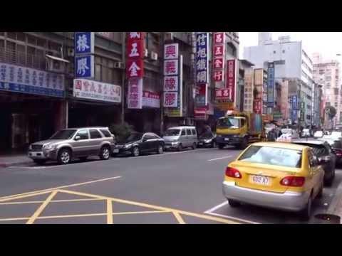 Recogiendo la basura en Taiwan