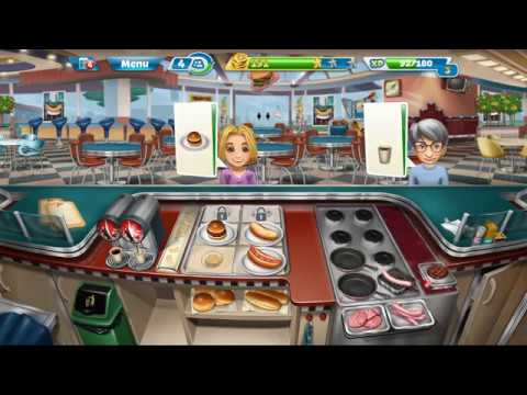 Let's Play Cooking Fever Part 2 - It's Time To Ketchup On These Orders