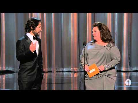 """Paperman"" winning Best Animated Short Film"