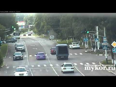 Авария в Кореновске
