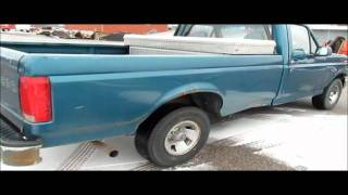 1996 Ford F150 pickup truck for sale | sold at auction March 13, 2012