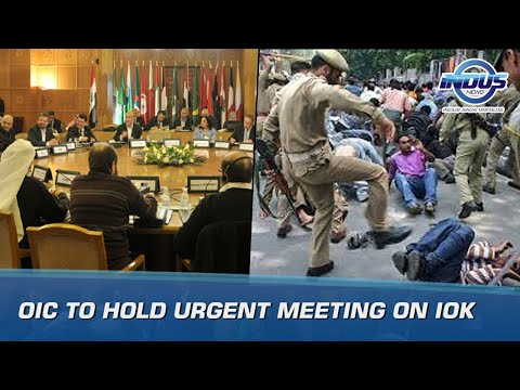 OIC to hold urgent meeting on kashmir