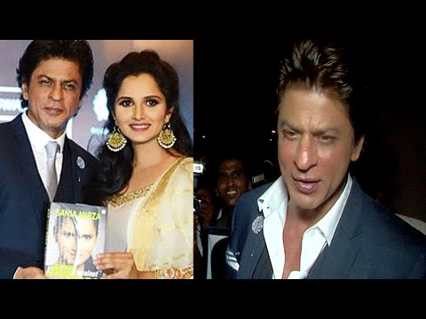 Shah Rukh Khan Best Wishes For Sania Mirza   SRK L