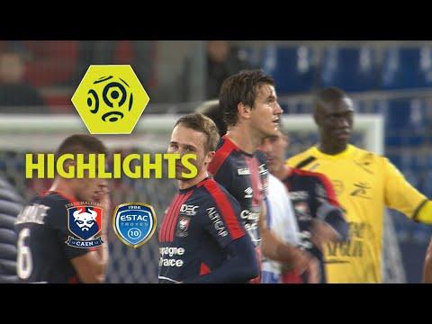 SM Caen - ESTAC Troyes (1-0) - Highlights - (SMC - ESTAC) / 2017-18