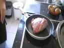 jarrete en salsa de perdiz
