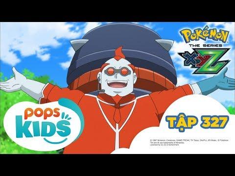 Pokémon Tập 327 - Tạm biệt Satoshi-Gekkoga! - Hoạt Hình Pokémon Tiếng Việt S19 XYZ - Thời lượng: 21:30.