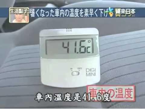 come raffreddare l'interno dell'auto senza aria climatizzata!