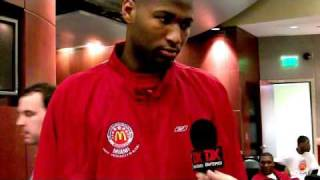 DeMarcus Cousins 2009 McDonald's All-American Interview
