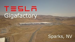 Have a look at the Tesla Gigafactory construction update for August 17th, 2017. The factory is coming along great with TONS of ...