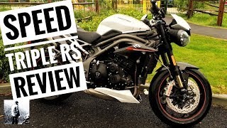 2. Triumph Speed Triple RS 1050 Review - Triumph Motorcycle Road Test