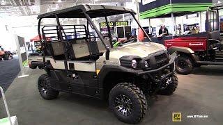 7. 2016 Kawasaki Mule Pro FXT EPS Utility ATV - Walkaround - 2015 Toronto ATV Show