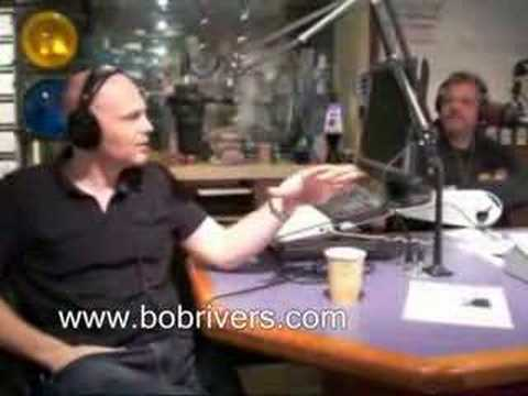 Comedian Bill Burr in The Bob Rivers Show, March 28, 2008