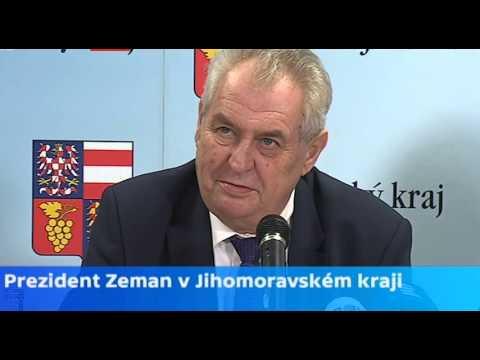 Návštěva prezidenta ČR Miloše Zemana ve firmě LIKO-S, Slavkov u Brna (reportáž v Jm večerníku na ČT1 a tisková konference na ČT24 27. 1. 2016)