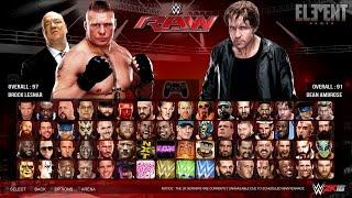 WWE 2K16 Gameplay Notion - Super Street Rules - PC/PS4/XB1 (Custom)