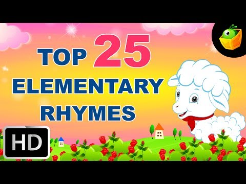 Top 25 Hit Songs For Elementary Kids -English Nursery Rhyme -Collection Of Animated Rhymes For Kids