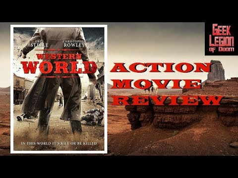 WESTERN WORLD ( 2017 Christopher Rowley ) aka A DEAD HUSBAND IN A WESTERN TOWN Action Movie Review