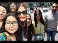 Aishwarya Rai & Abhishek Bachchan's Selfies With Their Fans In New York