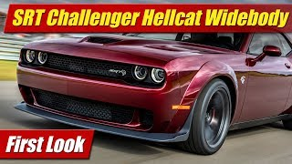 The Dodge Challenger SRT Hellcat gets the Demon widebody treatment for more grip on the track! See and hear the biggest and baddest Hellcat yet. Full first look review.Photo gallery and text: http://testdriven.tv/2017/06/first-look-2018-dodge-challenger-srt-hellcat-widebody/Auto news with a reality check! New car, truck, SUV and crossover test drives, reviews and news posted daily!Subscribe: http://www.youtube.com/TestDrivenTVWebsite: http://www.TestDriven.TVFacebook: http://www.facebook.com/TestdriventvTwitter: http://www.twitter.com/testdriventvGoogle: http://www.google.com/+TestDrivenTV
