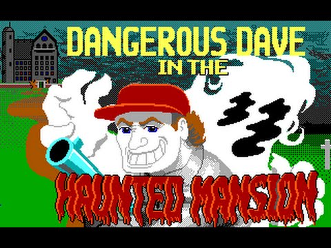 Ретро обзор | Dangerous Dave 2 : in the Haunted Mansion
