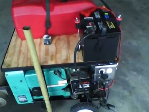 Onan - How I converted an Onan generator for stationary use. These are designed for RV use and can be had fairly cheaply. I paid $500 for this one and have maybe $7...