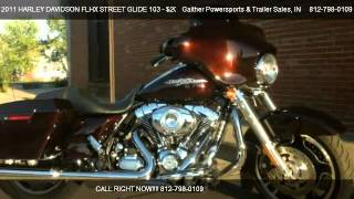 3. 2011 HARLEY DAVIDSON FLHX STREET GLIDE 103 103 ENGINE - for sale in Linton, IN 47441