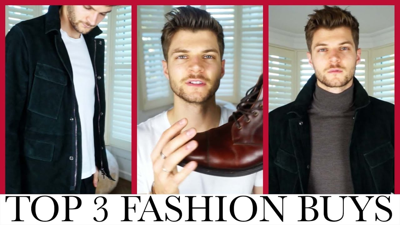 TOP 3 FASHION BUYS | OCTOBER 2016