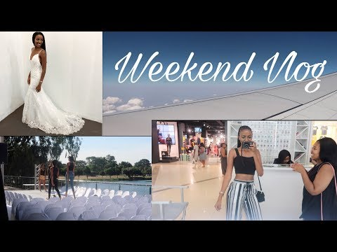 VLOG: WEEKEND IN MY LIFE | TRAVELLING & EVENTS | SOUTH AFRICAN YOUTUBER