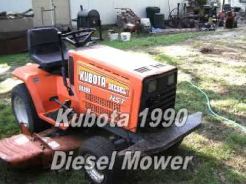 Kubota Diesel G5200 HST Riding Mower