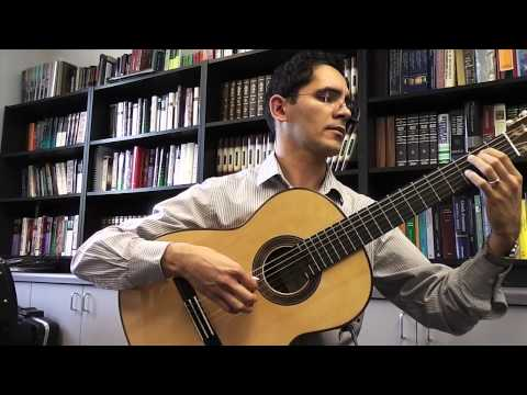 Vals Venezolano no. 3 - 2013 German Vasquez Rubio Classical Guitar SOLISTA