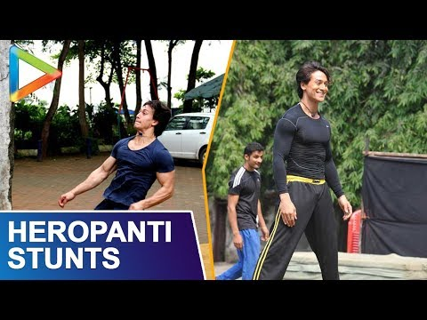 Shroff - Tiger Shroff trains with Ziley Mawai and does some unbelievable stunts as part of his training, in this mind-boggling video. Needless to say, must watch!