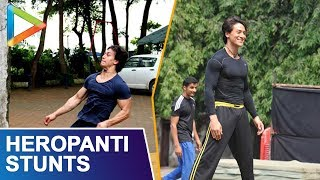 Tiger Shroff Does Mind Boggling Gymnastics