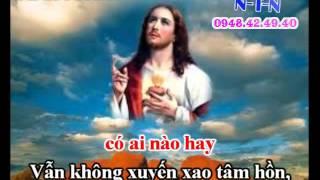 KARAOKE THANH CA VC - BINH AN TRONG JESUS (day Dao)
