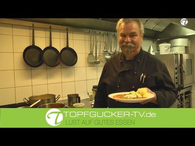 """DDR-Rezept   Pochiertes Ei auf Tomatensoße   Verlorene Eier """"Erzgebirgische Art"""""""