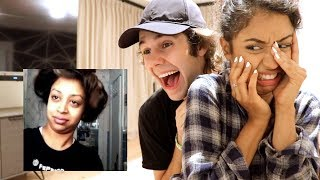 Liza and I react to her old vines for some good old couple cringey reacting!! Lizas video: ...