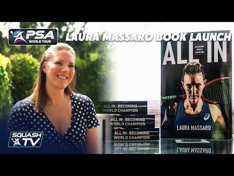 Squash: All In - Laura Massaro Book Launch