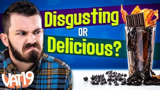 Video Eating Tree Bark and Drinking Ranch (DISGUSTING!) | Soda VS Real Challenge MP3, 3GP, MP4, WEBM, AVI, FLV Maret 2019