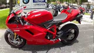 3. 2011 Ducati 1198 SP Red at Euro Cycles of Tampa Bay