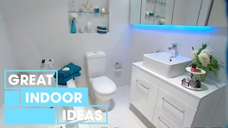 DIY Bathroom Makeover | Indoor | Great Home Ideas