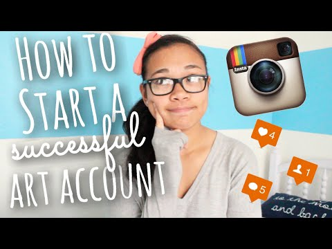 How to Start a Successful Art Instagram Account + How to Gain Followers   SimplyMaci
