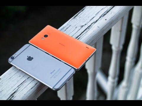 Battle Vid: iPhone 6 vs Lumia 930 (видео)
