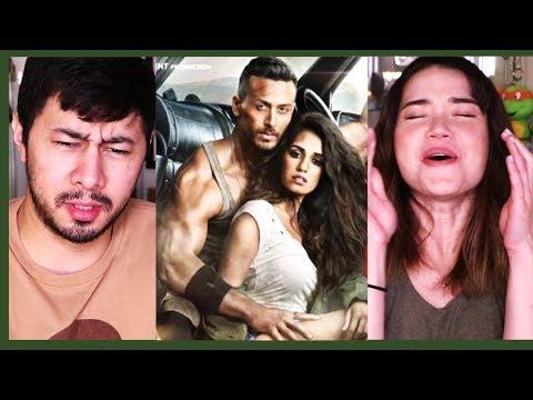 BAAGHI 2 | Tiger Shroff | Disha Patani | Trailer Reaction! (видео)