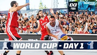 Check out the FIBA 3x3 World Cup 2017 Pool Phase from Nantes, France! Pool Phase (GMT +2): Women: 14:00 - Switzerland (7)...