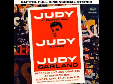 Judy Garland – Judy at Carnegie Hall – Part 1