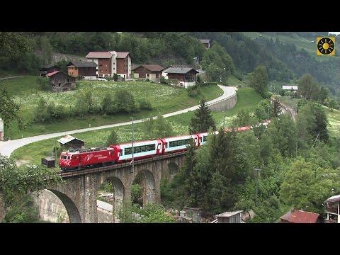 """SCHWEIZ – Glacier Express """"Die berühmteste Bahn der Alpenwelt"""" Swiss Alps – Switzerland"""
