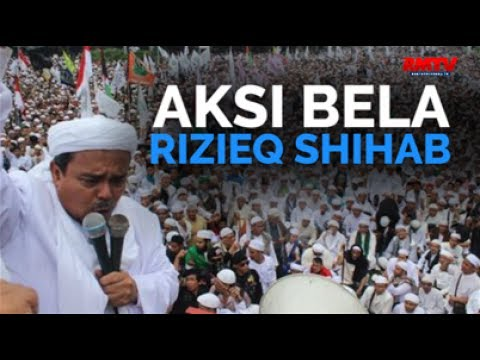 Aksi Bela Rizieq Shihab