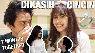 Video DIKASIH CINCIN | 7 months together MP3, 3GP, MP4, WEBM, AVI, FLV Juni 2019
