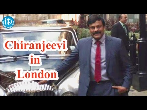 Chiranjeevi in London for Daughter's Convocation