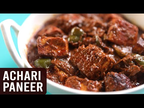 Achari Paneer | MOTHER'S RECIPE | How To Make Paneer Achari | Pickled Flavour Cottage Cheese Recipe