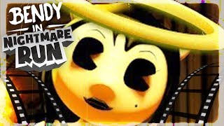 O NOVO BENDY!!! ENCONTREI NOVO BOSS E ALICE ANGEL! | Bendy in Nightmare Run (NOVO)